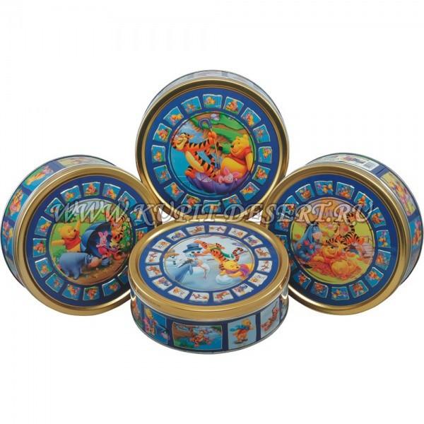 Печенье Винни-Пух ассорти-люкс Jacobsens Bakery 400 г