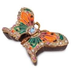 Шкатулка для украшений Бабочка