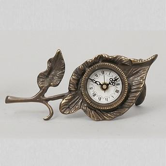 Каминные часы Листок