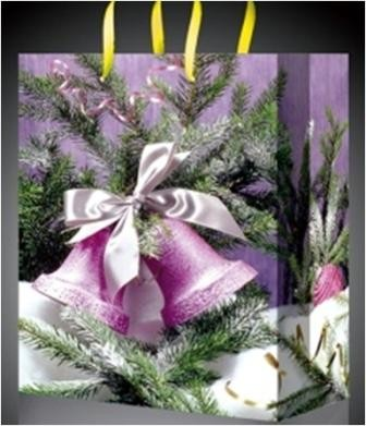 Новогодний пакет Колокольчики