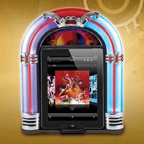Музыкальный автомат для iPad Ретродиско