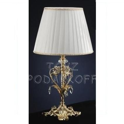Светильник белый Золотые цветы Linea Regalo