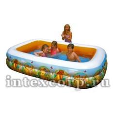 Надувной бассейн INTEX Король Лев