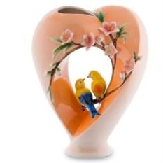 Фарфоровая ваза Сердце (Pavone)