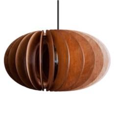Деревянный подвесной светильник Лампа Эльза