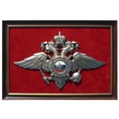 Плакетка Эмблема МВД России