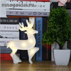Светодиодный декоративный ночник Сказочный олень