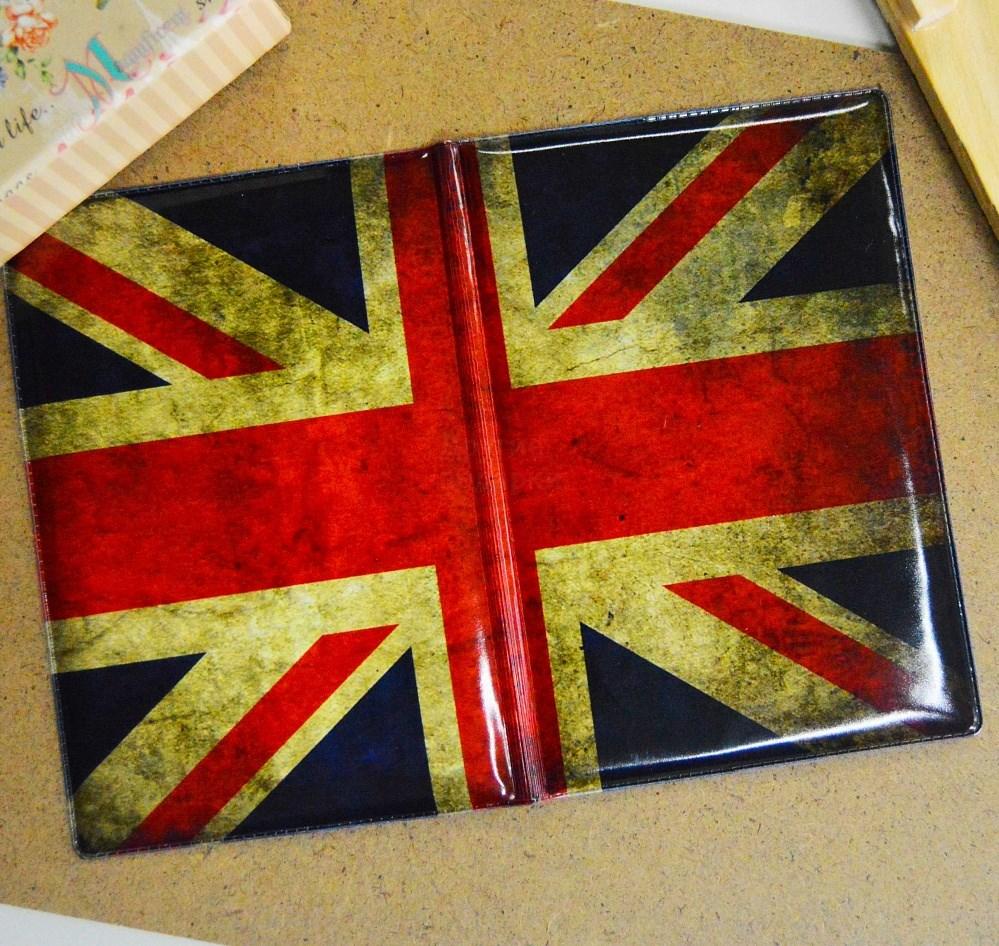 Обложка на паспорт Английский флаг