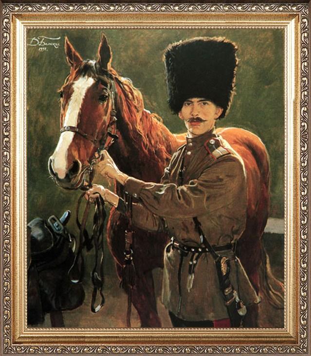 Мужской портрет ко Дню Красной армии