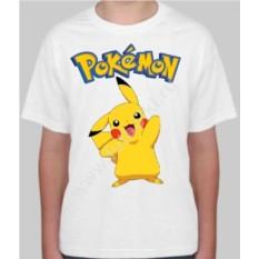 Детская футболка с покемоном Пикачу