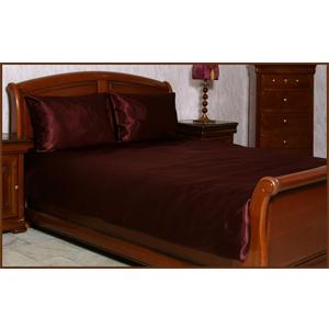 Комплект постельного белья «Бордовый»