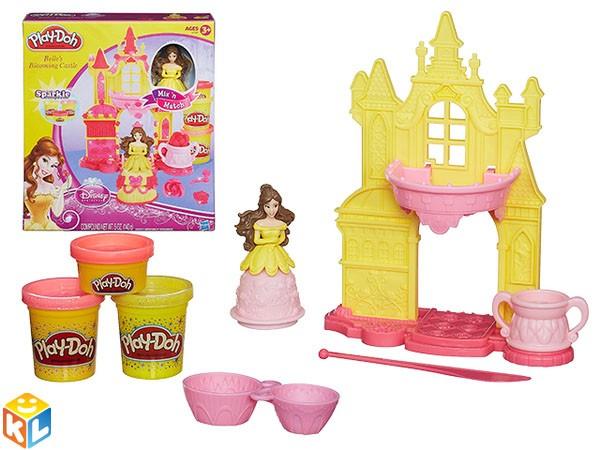 Набор пластилина Play doh Замок белль от Hasbro