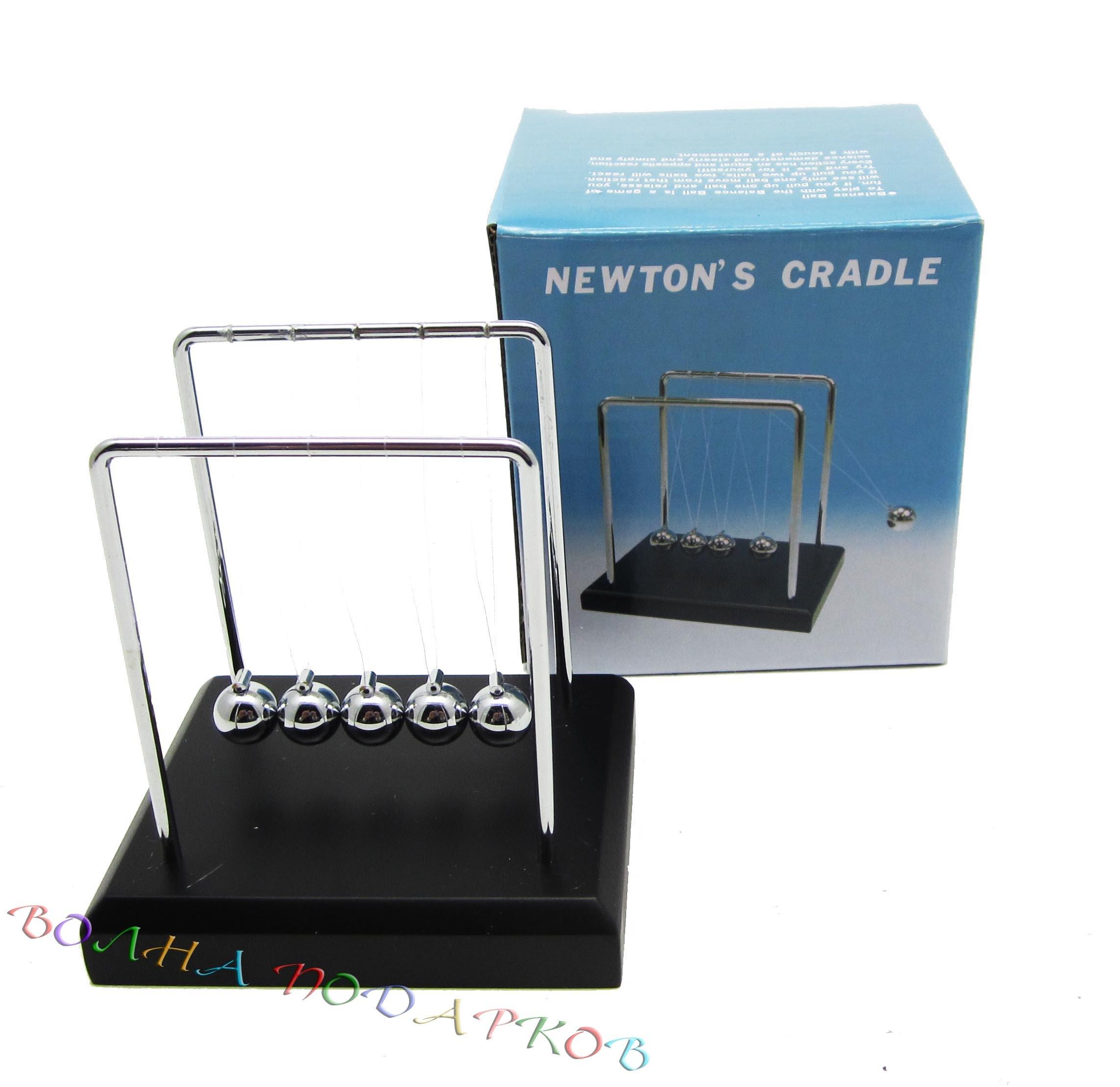 Маятник Ньютона средний 12 см
