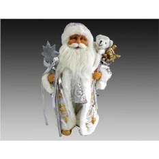 Дед Мороз с подарками и рождественской звездой