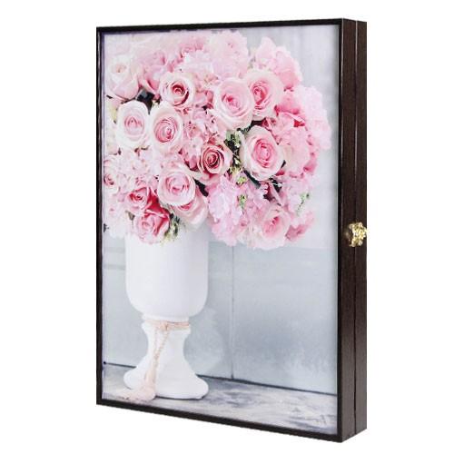 Ключница Ваза с букетом роз