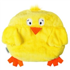 Игрушка-подушка с пледом Цыпленок