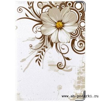 Обложка на паспорт Цветы