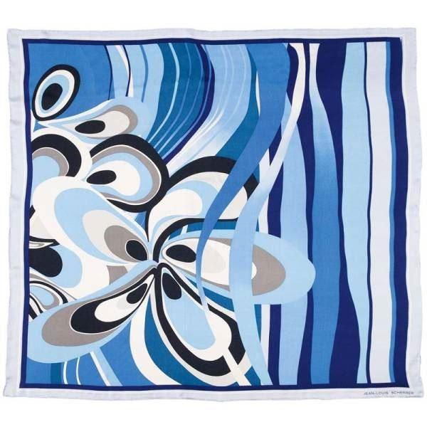 Шелковый платок Jean-Louis Scherrer Fleur