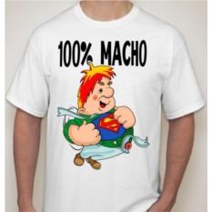 Мужская футболка 100% macho