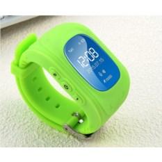 Умные детские часы с GPS Q50 Smart Baby Watch зеленого цвета