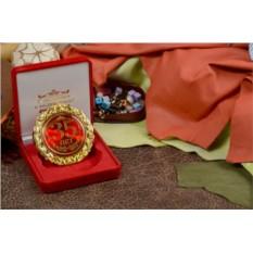 Подарочная медаль «Прекрасные 35 лет, с юбилеем!»