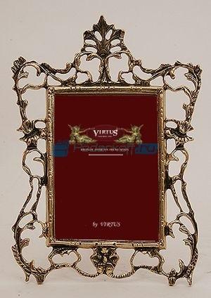 Фоторамка из бронзы Империя, цвет золотой