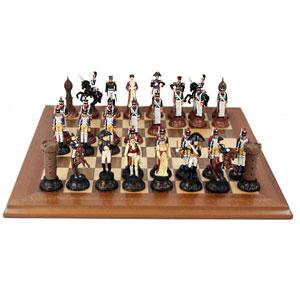 Шахматы из олова «Бородинская битва»