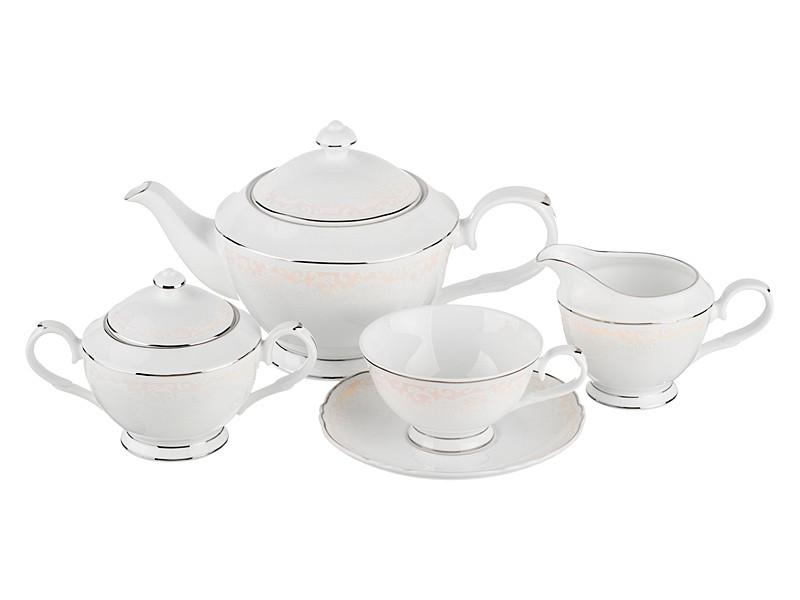 Чайный сервиз на 6 персон Ваниль