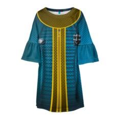 Детское платье с 3D-рисунком Комбинезон Убежища 111