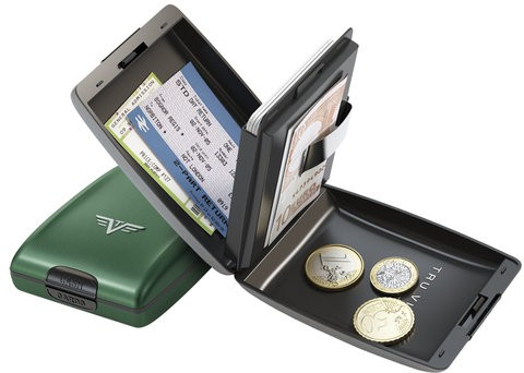 Зеленый кошелек Tru Virtu OYSTER