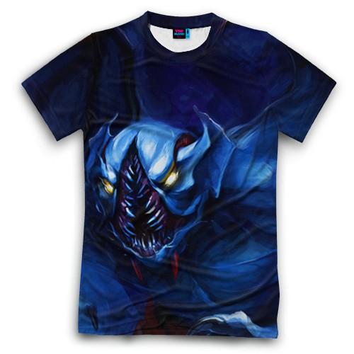 Мужская футболка 3D с полной запечаткой Nightstalker