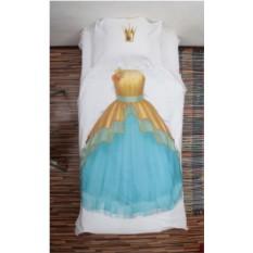Постельное 3D белье для девочек Принцесса