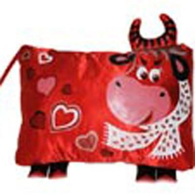 Дизайнерская подушка «Пламенное сердце»