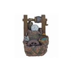 Декоративный фонтан Колодец с монетами