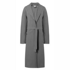 Женский серый серый халат из 100% хлопка Bretagne