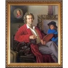 Оригинальный портрет художнику