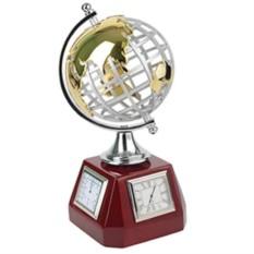 Погодная станция Глобус: часы, термометр, гигрометр