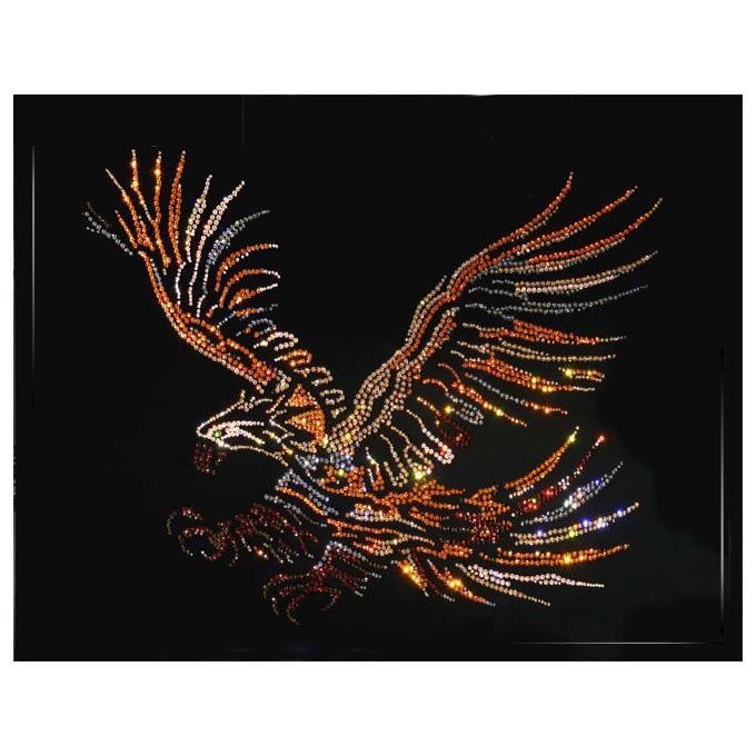 Картина Swarovski «Орёл большой»