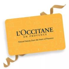 Подарочная карта L'occitane