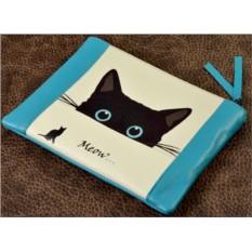 Клатч - косметичка Чёрная кошка