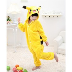 Детская пижама кигуруми Пикачу (открытая улыбка)