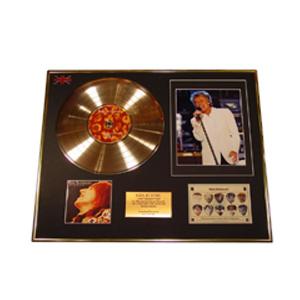 Золотой диск Rod Stewart