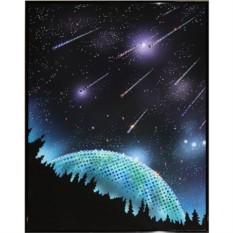 Картина с кристаллами Swarovski Звездопад