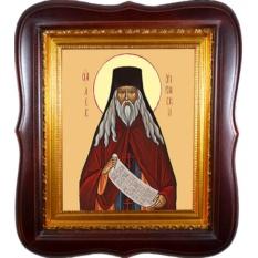 Лев Оптинский Преподобный. Икона на холсте.