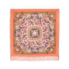 Павлопосадский шелковый платок Королевский бал