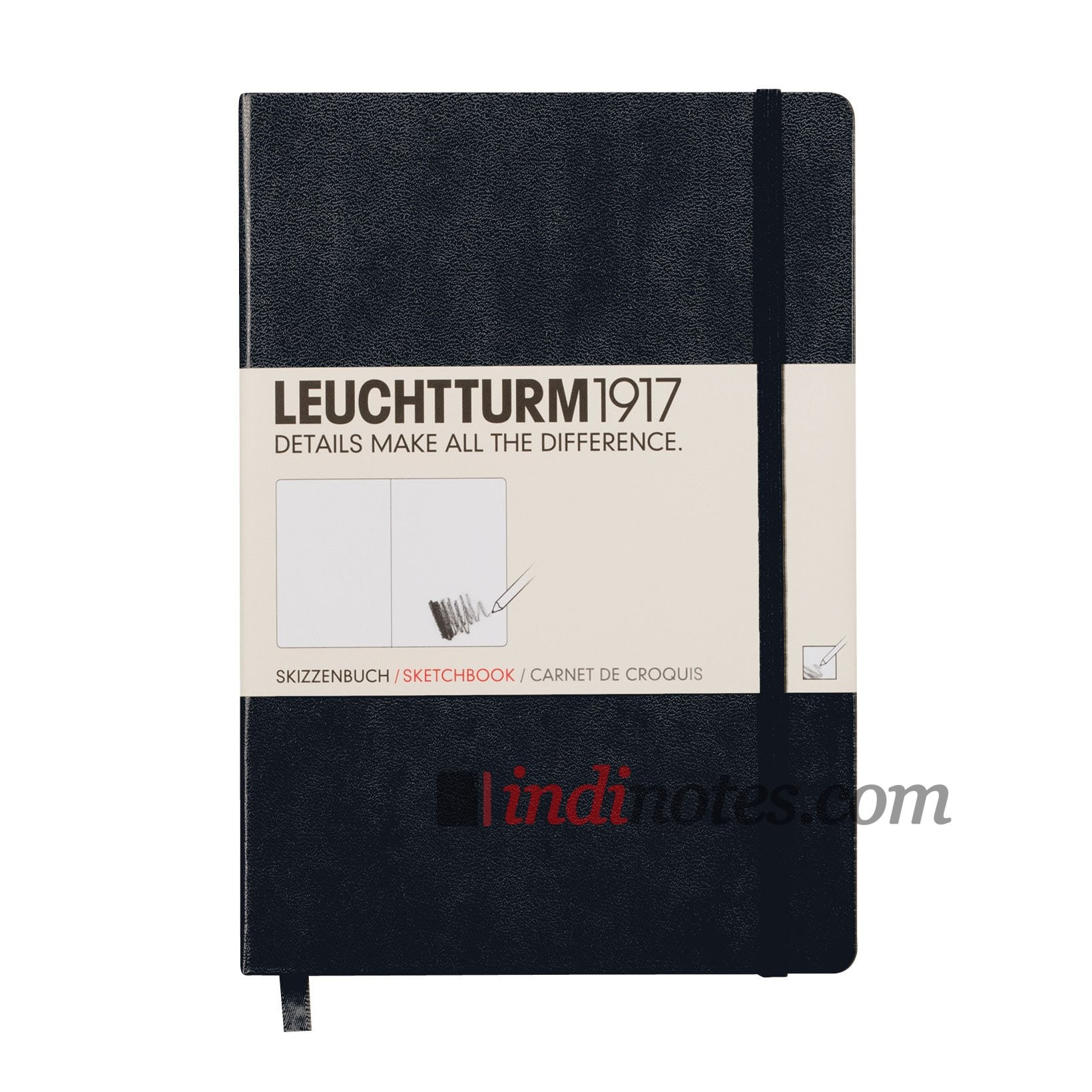 Скетчбук Leuchtturm 1917 Medium Sketchbook Black