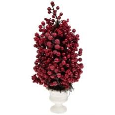 Декоративная композиция Красные ягодки