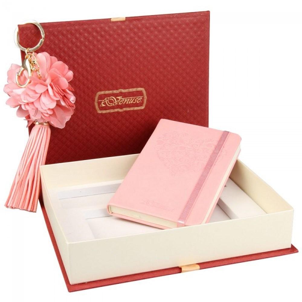 Подарочный набор Princess: записная книжка и брелок