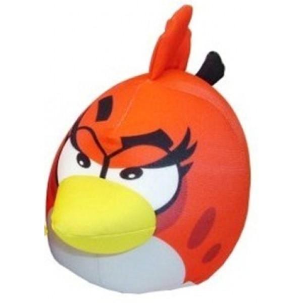 Красная игрушка антистресс Angry Birds (девочка)