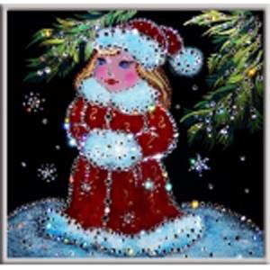 Картина Swarovski «Снегурочка»